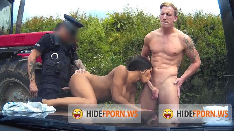 FakeCop.com/FakeHub.com - Kiki - Super trooper: Racer Gets Involved In Outdoor Threesome [HD 720p]