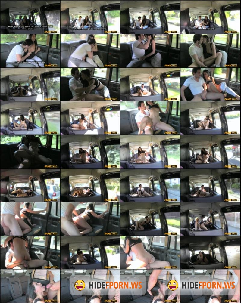 FakeTaxi.com: FakeTaxi E271 - Spanish couple have hot sex in back of taxi (Sex in Car / Public) [HD 720p]