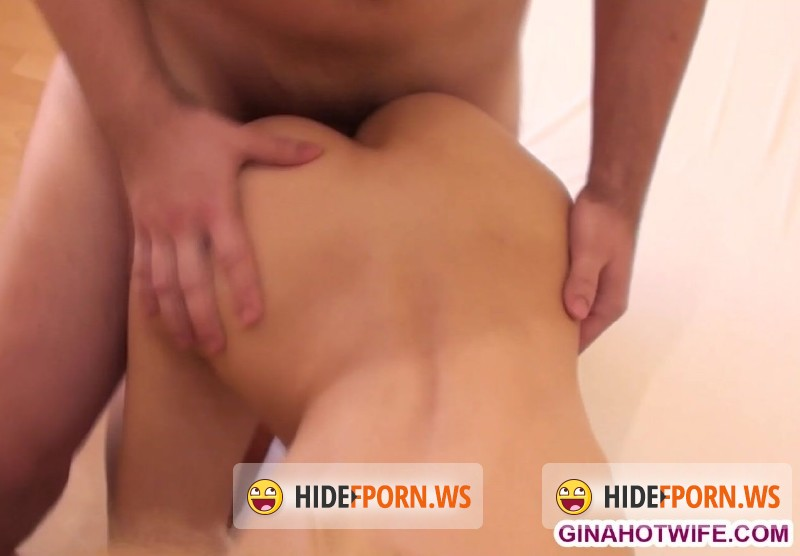 Hotwifegina.com/Ginamonelli.com - Gina Monelli - Two Cocks in My Pussy [FullHD 1080p]