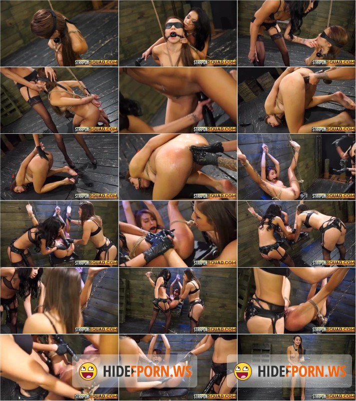 StrapOnSquad.com - Marina Angel, Esmi Lee, Abella Danger - Marina Angel Endures Lesbian Domination Threesome with Esmi Lee and Abella Danger [SD 270p]