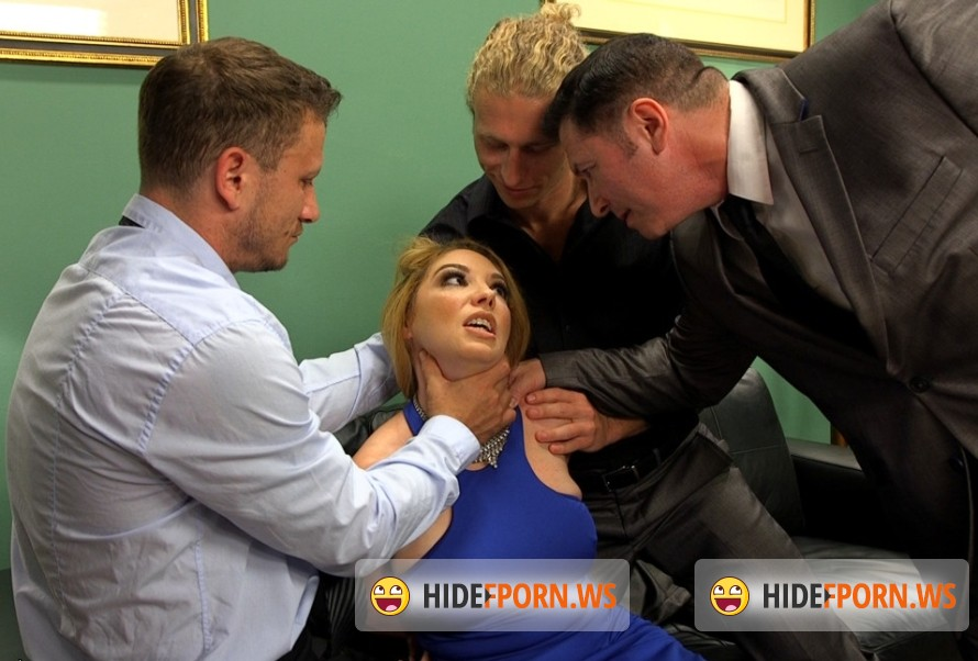 HardCoreGangBang.com - Kiki Daire - Double-O-Sexy: Secret Agent trades her holes for intel! [SD 540p]