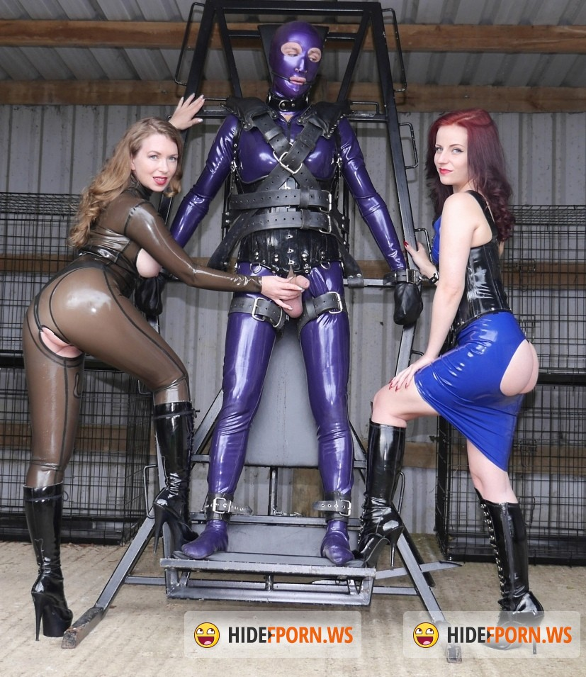 TheEnglishMansion.com: Mistress Lola Ruin, Mistress T - Slave Spin Cycle (Femdom) [HD 720p]