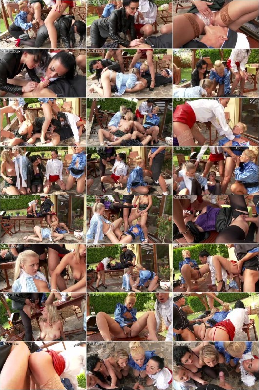 Goldenshowerpower.com/SinDrive.com - Cayla Lyons, Roxy Black, Sweet Cat, Inga Devil, Roxy Gold - He Got 5 On It ... :-) A Cool Group Piss Orgy With A Dip Of Hot Sex Action & Wet Power All Over The Place [SD 540p]