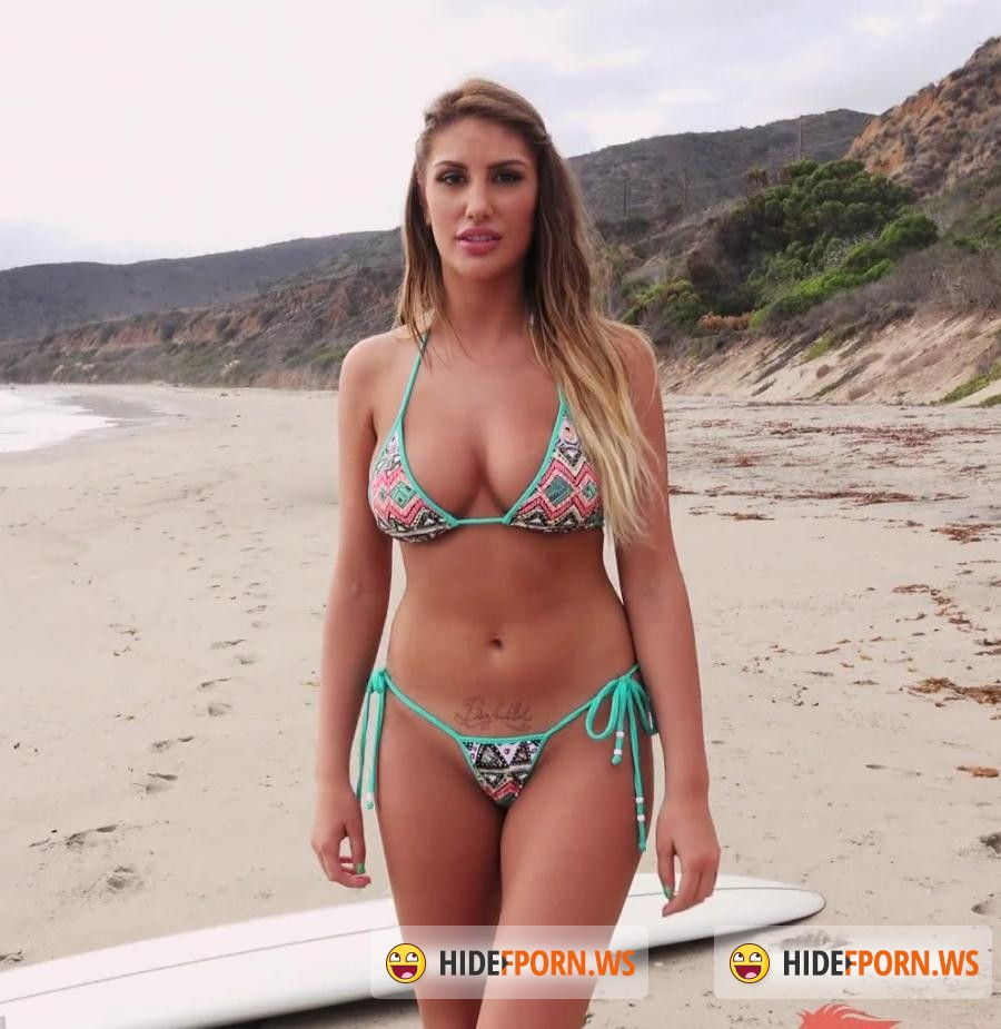 Play Ground: August Ames - Surfs Up (Big Tits) [FullHD 1080p]