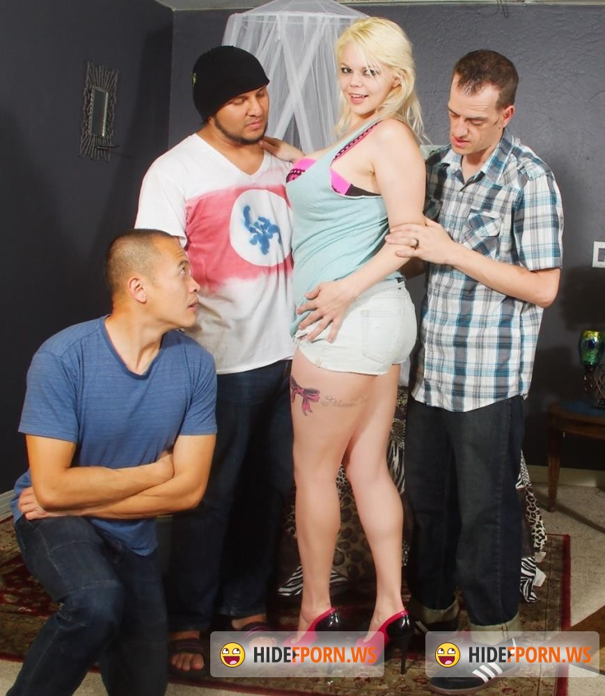 WhiteGhetto - Alice Frost, Eric Jover, Cesar Agustus, Chad Diamond - We Wanna Gang Bang The Babysitter 20, Scene 1 [HD 720p]