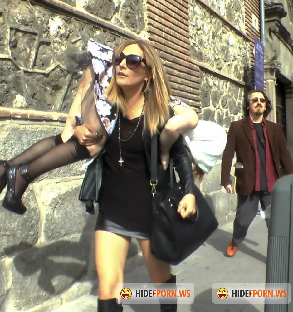 PublicDisgrace/Kink - Mona Wales, Xavi Tralla, Brenda Boop - Church Whore Gets Fucked in the Ass and Covered in Trash!!! [HD 720p]