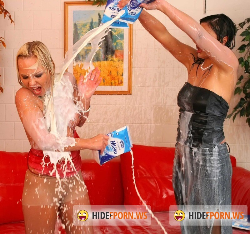 AllWam.net/Tainster.com - Sharka Blue, Kate - Cheating Friend Gets Doused In Milk [SD 540p]