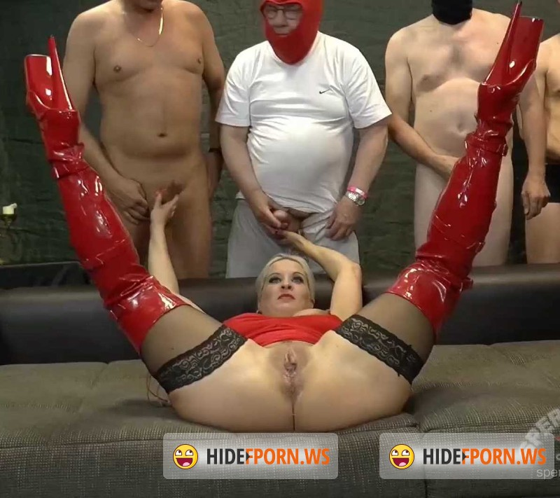 Sperma-Studio.com - Heidi Hills - Red stockings [FullHD 1080p]