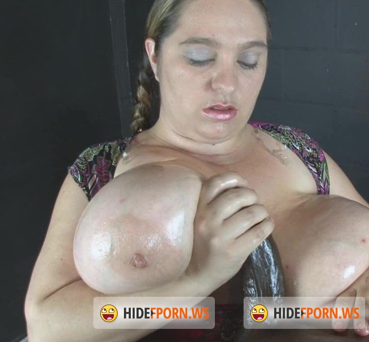 HandDomination.com - April - Aprils awesome 38H Natural breasts overwhelm Black Bull penis [HD 720p]