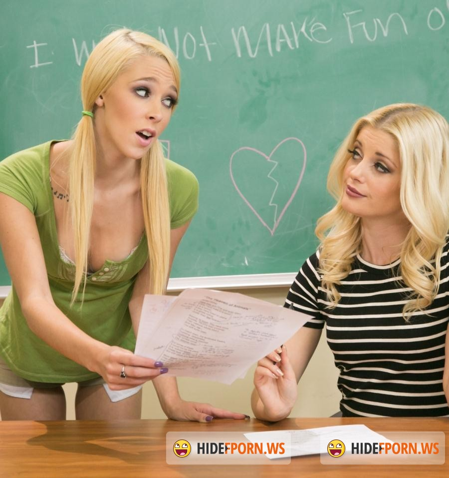 Girl Massage: Lola Hunter, Charlotte Stokely - Teacher Vs Student: Part Two (Lesbians) [HD 720p]