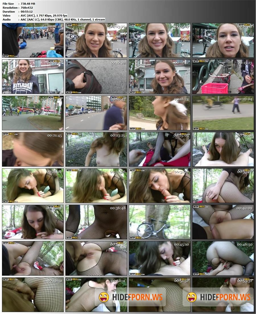 PublicSexAdventures.com/WTFPass.com - Nadia-Bella - Real girl goes for outdoor anal fucking [SD 432p]