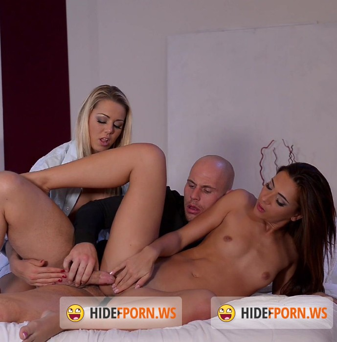 HandsonHardcore.com/DDFNetwork.com - Christen Courtney, Alexis Brill - From Gym To Bed: Lifting Weights And Fucking Pussiese [FullHD]