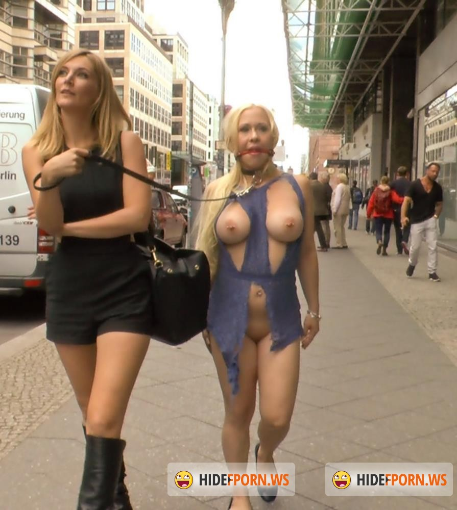PublicDisgrace/Kink - Mona Wales, Conny Dachs, Celina Davis - Busty Blonde Piece of Filth Begs to be Treated Like Trash [HD 720p]
