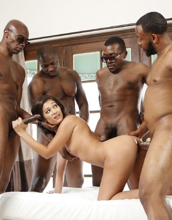 Newsensations.com - Devyn Heart - My First Interracial Gangbang [SD]