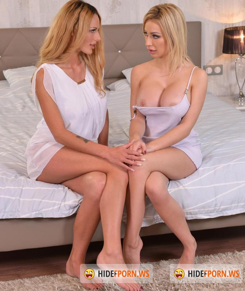 DDFBusty/DDFNetwork - Chessie Kay, Chelsey Lanette - Lesbian Voluptuousness: Two Ample Babes Enjoy Double Strap-On [HD 720p]