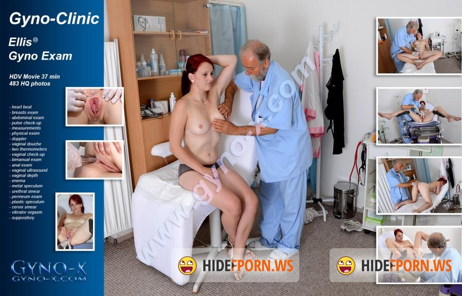 Gyno-X.com: Ellis - 22 years girl gyno exam (Doctors) [HD 720p]