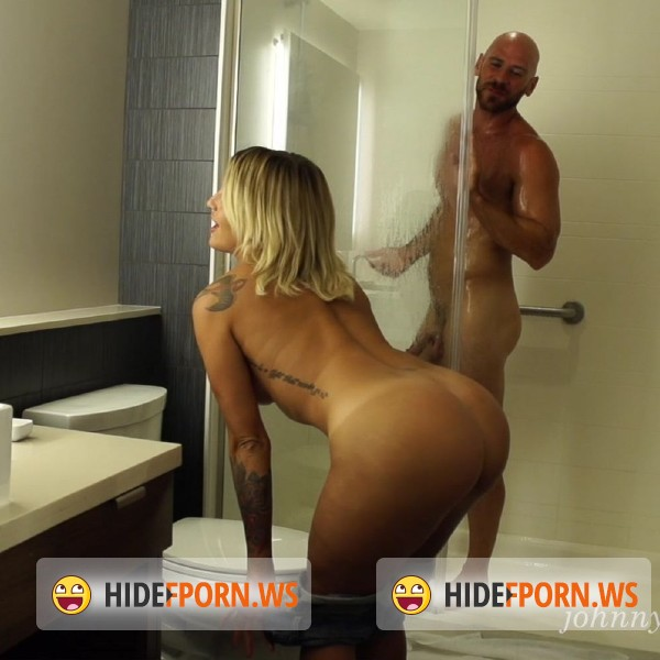 JohnnyandKissa.com: Kissa Sins - Back to Vegas Shower Sex [FullHD 1080p]