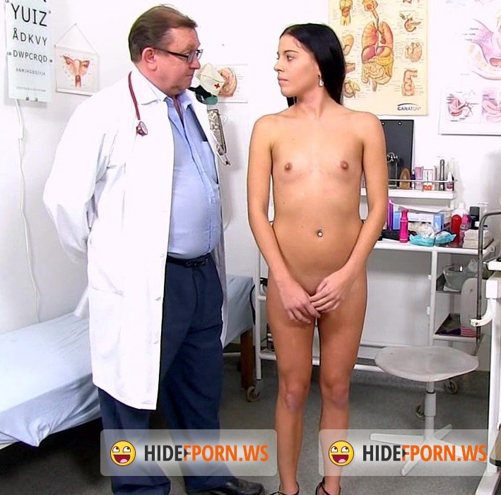 ExclusiveClub.com/FreakyDoctor.com - Eveline Dellai - 22 years girls gyno exam [HD 720p]
