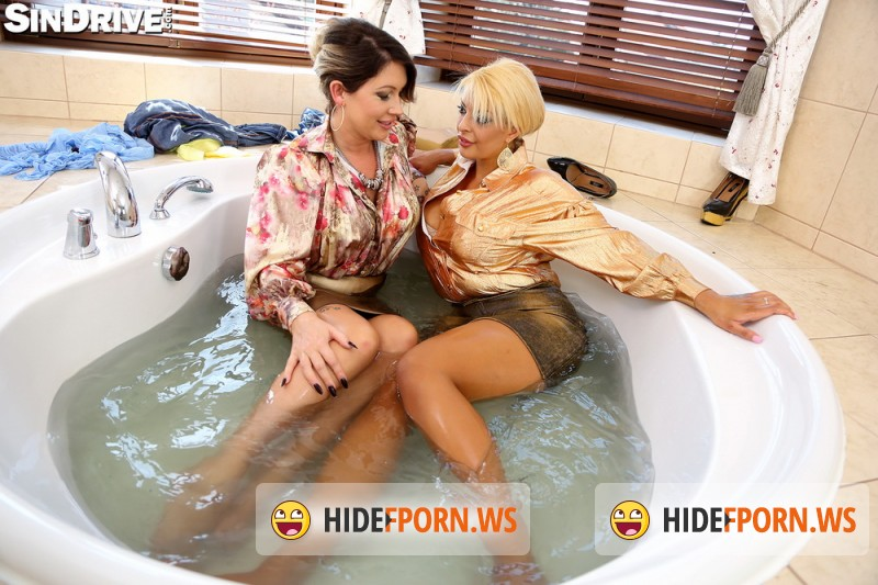 Sindrive.com- Krystal Niles,Tamara Lovest - Nasty Nylon, Freaky Foot Fun - Unleashed UK Boobies In Bitchy Action: As Wet As We Can Get! [FullHD]
