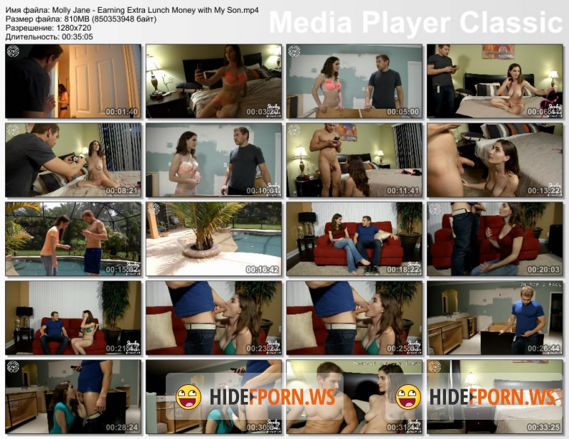 Molly Jane - Earning Extra Lunch Money with My Son [HD 720p]