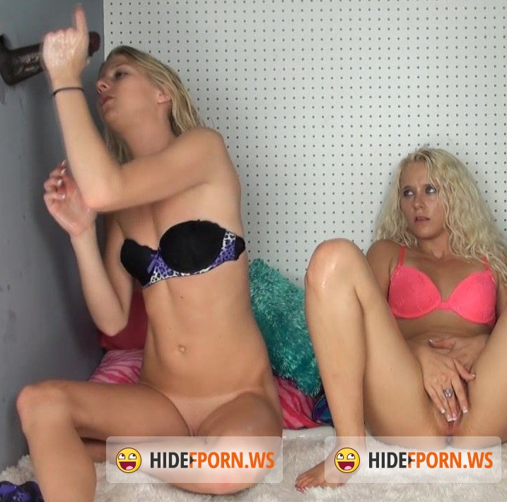 HandDomination.com - Amateurs - The Cock Box blondes nearly drown in Bull semen amazing release! [HD 720p]