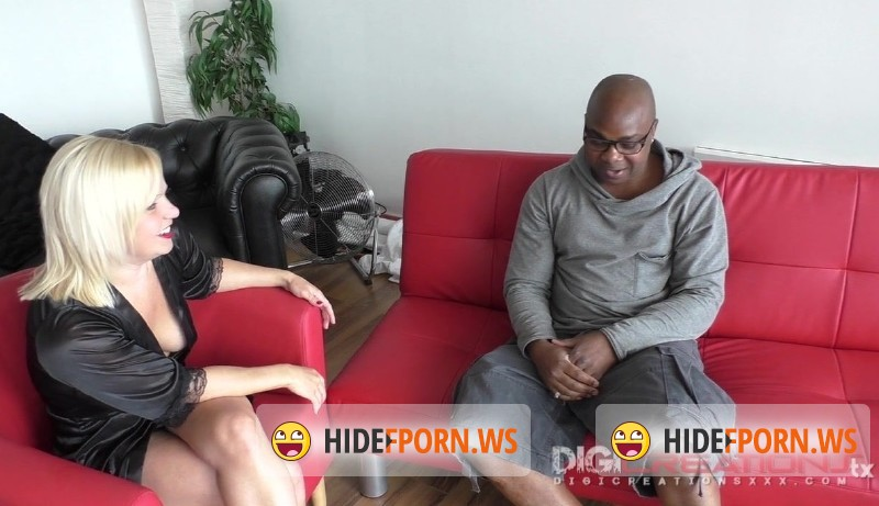 DigiCreationsXXX.com - Blondie Starr - British Milf First Black Cock [HD 720p]