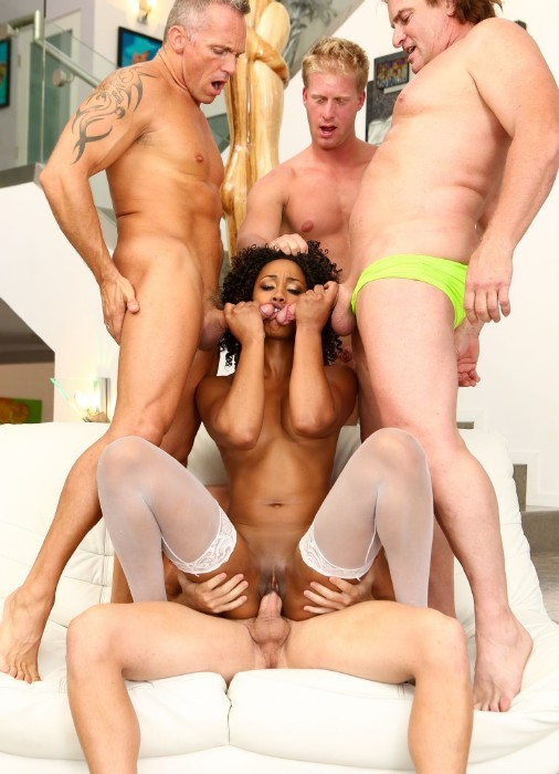 DevilsFilm.com - Misty Stone, Evan Stone, Marcus London - White Out 2, Scene 2 [FullHD]
