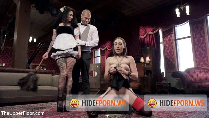 TheupperFloor.com/Kink.com: Lily LaBeau, Arabelle Raphael - Evil French Maid Steals All The Anal [SD 360p]