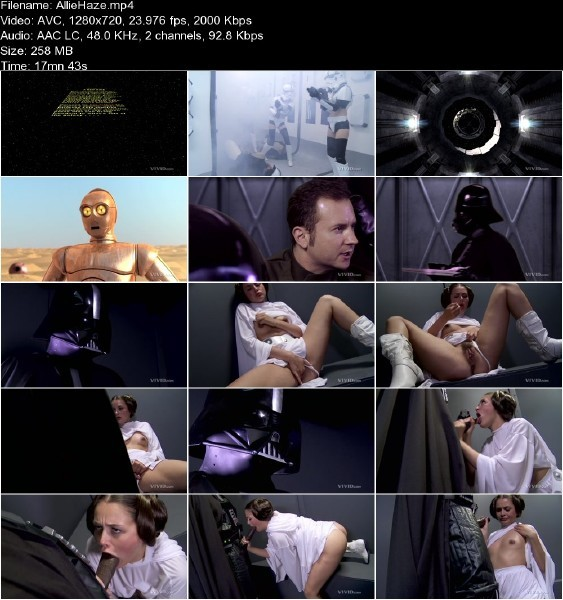 Vivid.com - Allie Haze - Star Wars XXX A Porn Parody [HD 720p]