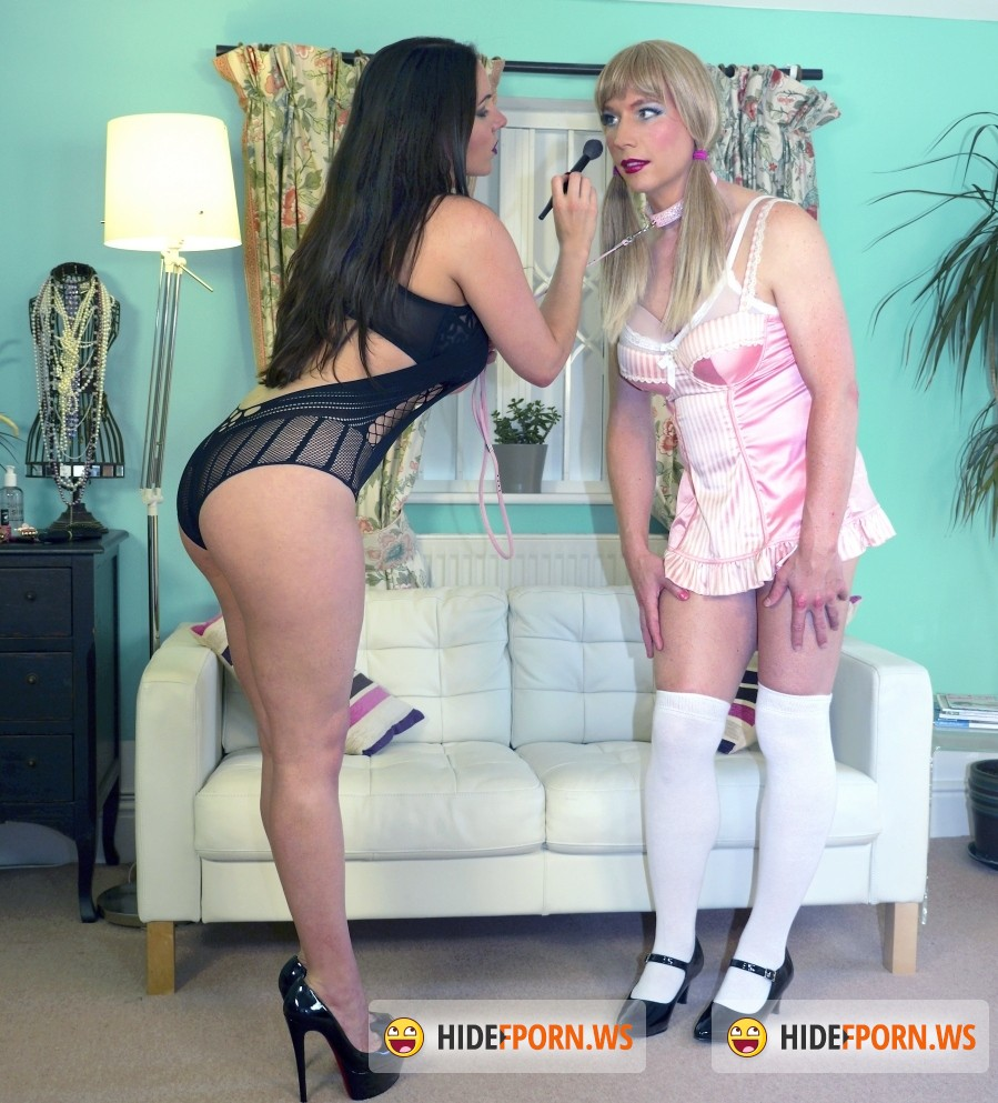English Mansion: Domina Alexandra Snow, Tiffany Real Doll - Tiffany Play Doll (Femdom) [HD 720p]