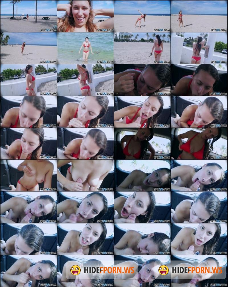 FirstClassPOV.com/Spizoo.com: Kimber Lee - Beach Car Kimber Lee Bj [HD 720p]