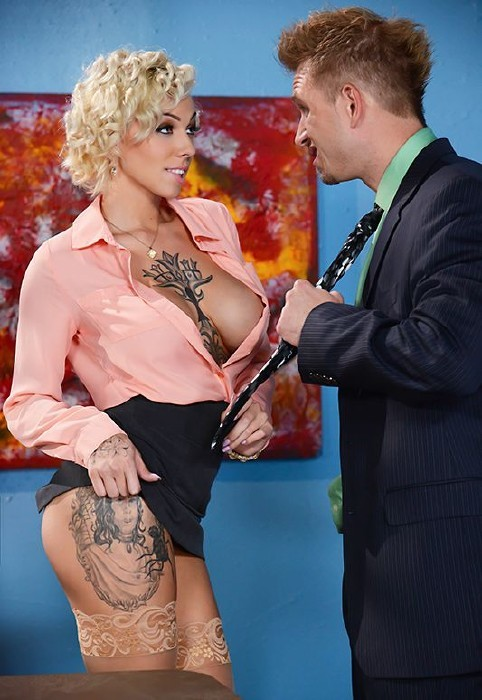 BigTitsAtWork.com/Brazzers.com - Harlow Harrison - Obsessive Cum-pulsive Disorder [FullHD]