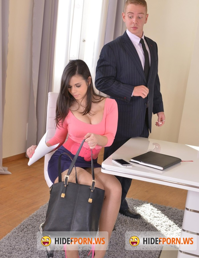 DDFNеtwork - Nekane - From Work To Pleasure: Brunette Gets Banged In Office And Bedroom [FullHD]