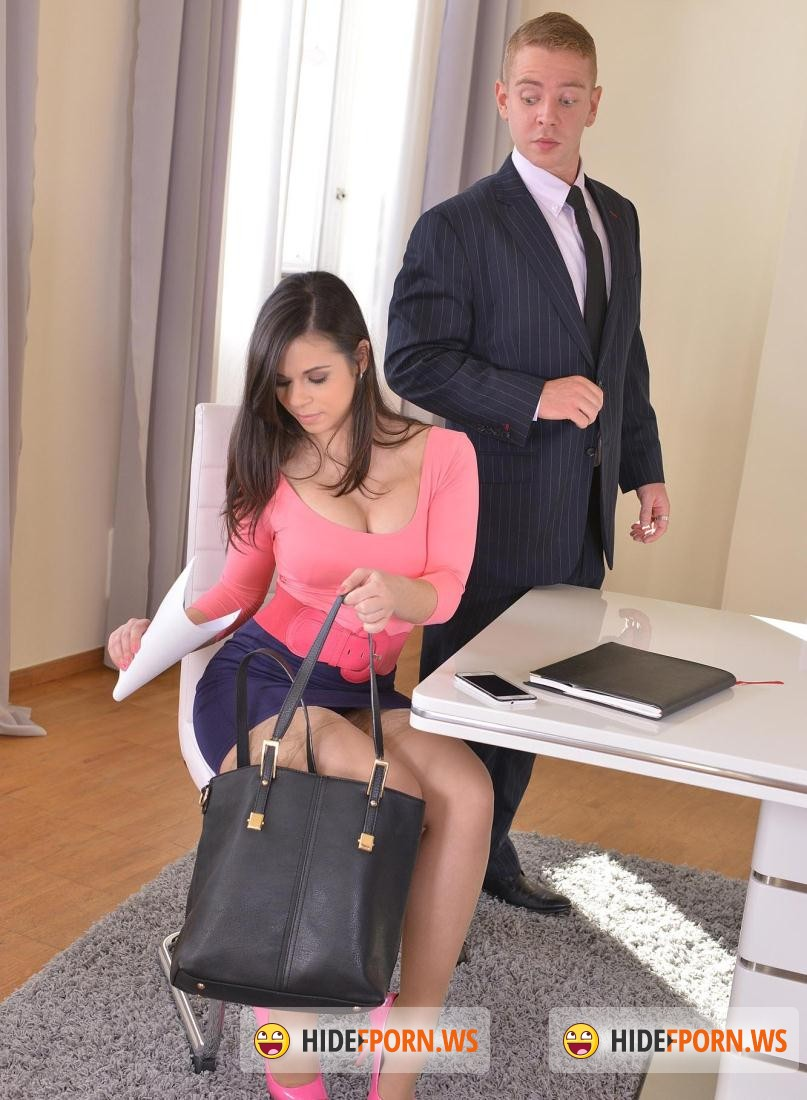 Hands Hardcore: Nekane - From Work To Pleasure: Brunette Gets Banged In Office And Bedroom (Big Tits) [SD 540p]