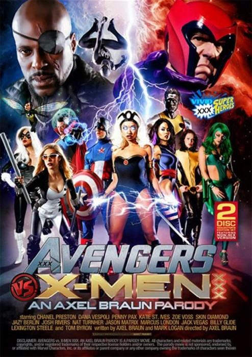 Avengers VS X-Men XXX Parody (2015/WEBRip/SD)