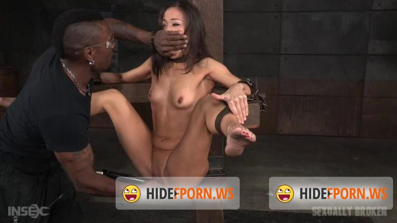 SexuallyBroken.com - Kalina Ryu, Maestro, Jack Hammer - Sexy Asian fuck doll Kalina Ryu bound and spread wide, then roughly pounded in mouth and pussy! [HD 720p]