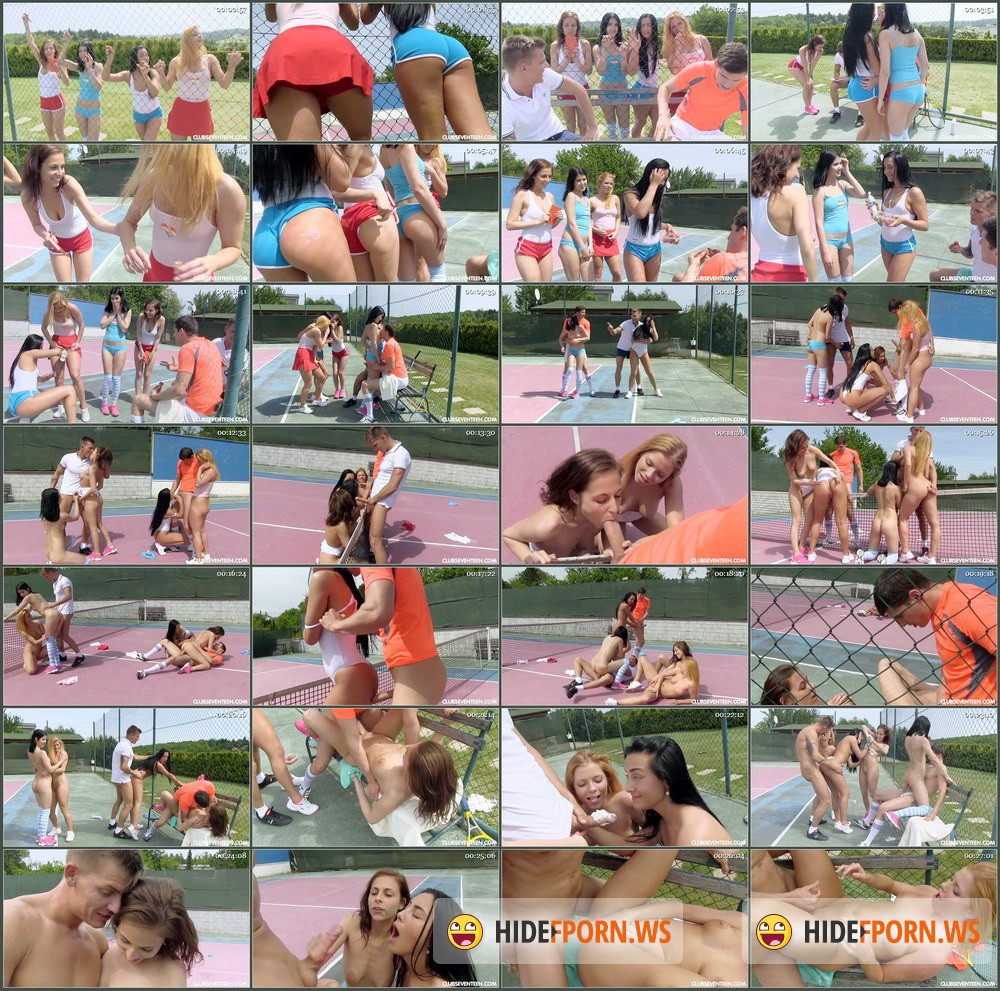 ClubSevenTeen.com - Lady D, Chrissy Fox, Ana Rose, Antonia Sainz - This Aint Wimbledon 2015 [HD 720p]