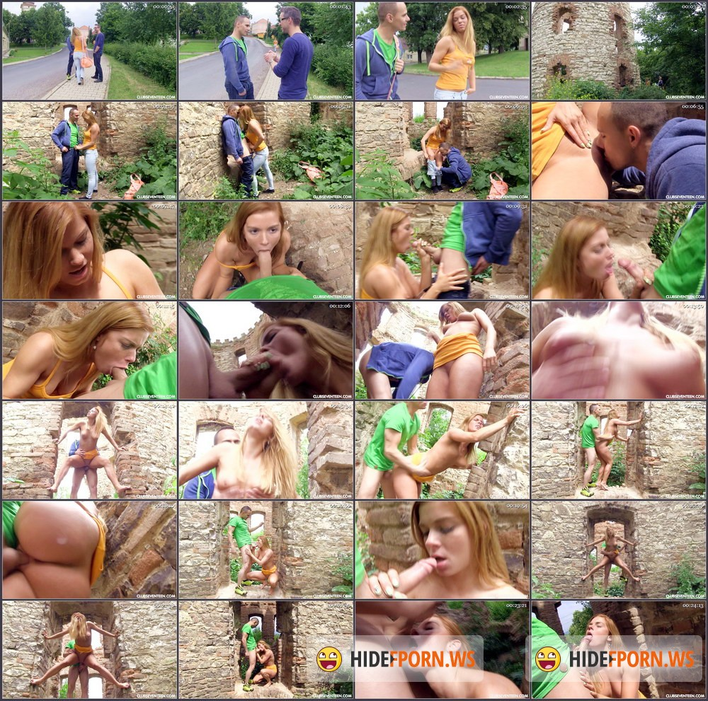 ClubSevenTeen.com - Chrissy Fox - Chrissy Fucking In The Ruins [HD 720p]