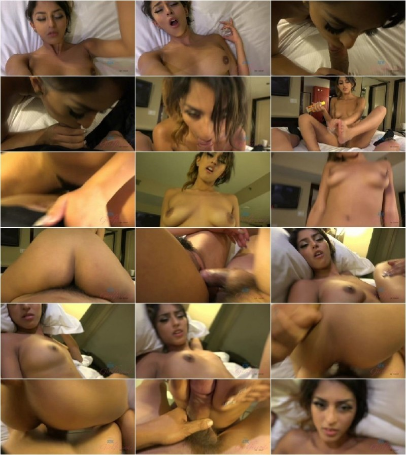AtkGirlfriends.com - Sophia Leone - You kneel over her to cum on her pretty face [FullHD 1080p]