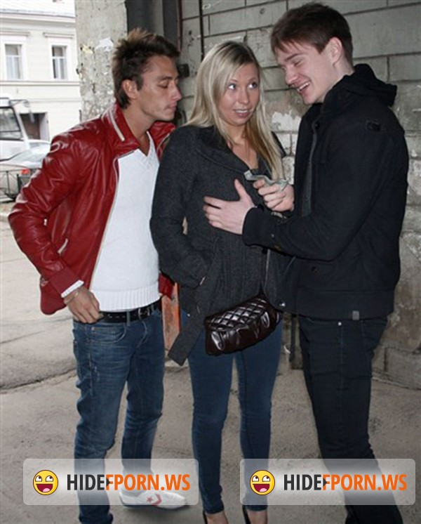 HardFuckGirls.com/WTFPass.com - Suzanna - Blonde angel enjoys pick up sex with two guys [SD 432p]