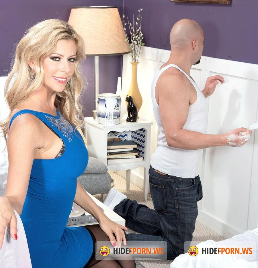 40SomethingMag.com/PornMegaLoad.com: Alexis Fawx - JMac Paints Alexis Face [HD 720p]
