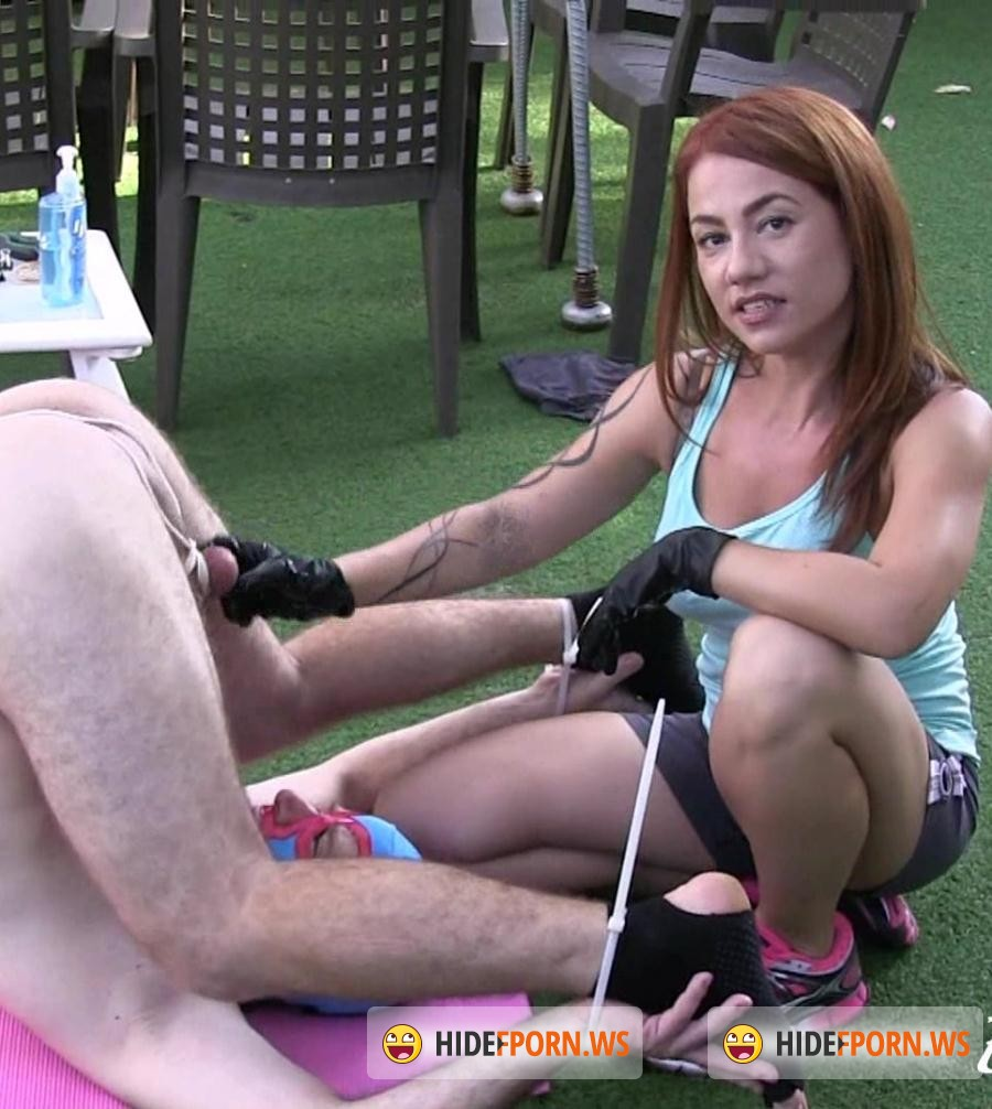 Ekross: Mistress Ella - Making a Stupid Slave Eat His Own Cum! [HD 720p]