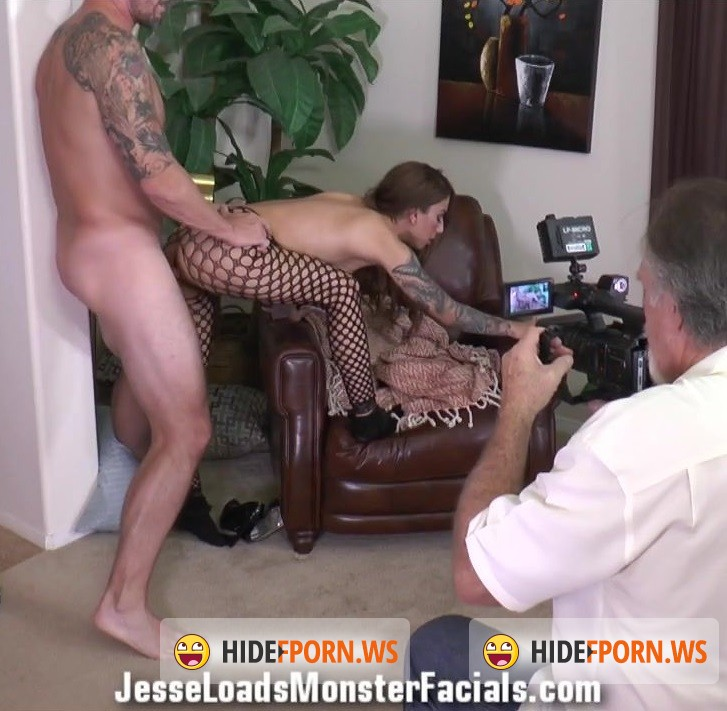JesseLoadsMonsterFacials.com - Stassi Sinclair 2 - Jesse Loads Monster Facials - bts [HD 720p]