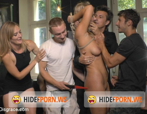 PublicDisgrace.com/Kink.com - Mona Wales, Conny Dachs, Luci Angel - Horny Blonde Anal Slut Disgraced for Berlin Tourists [HD]