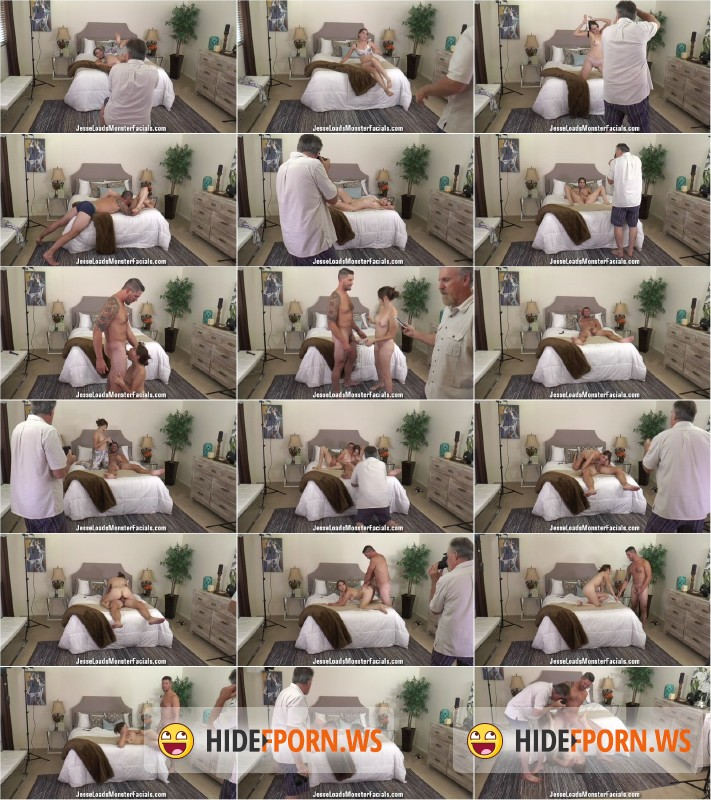 JesseLoadsMonsterFacials.com - Nickey Huntsman 2 - Jesse Loads Monster Facials - bts [HD 720p]
