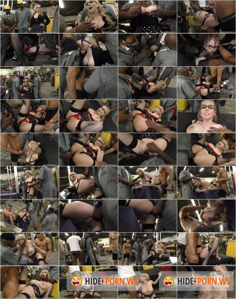 BlacksOnBlondes/DogFartNetwork.com - Christie Stevens - Second Appearance [SD]