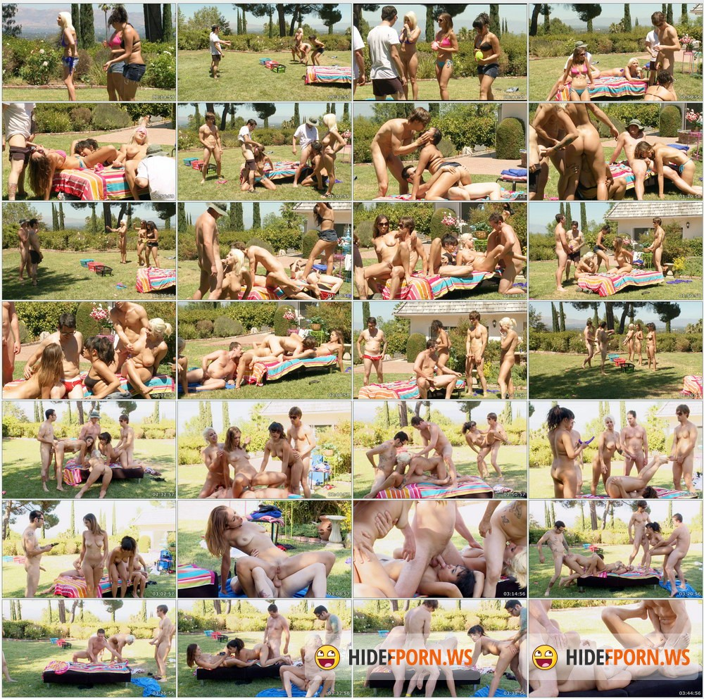 FuckingGamble.com - Annie Cruz, Audrey Rose, Lylith Lavey - Water Balloon Sex Game [HD 720p]