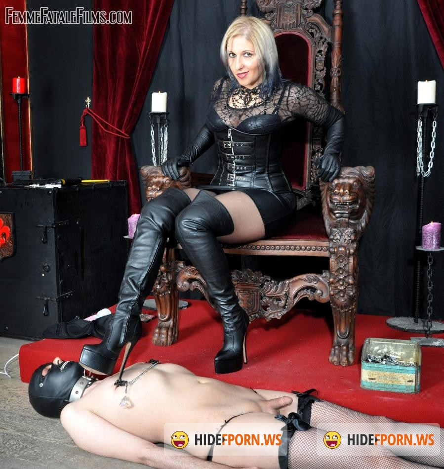 Femme Film: Mistress Johanna - Johannas Bitch Slave [HD 720p]