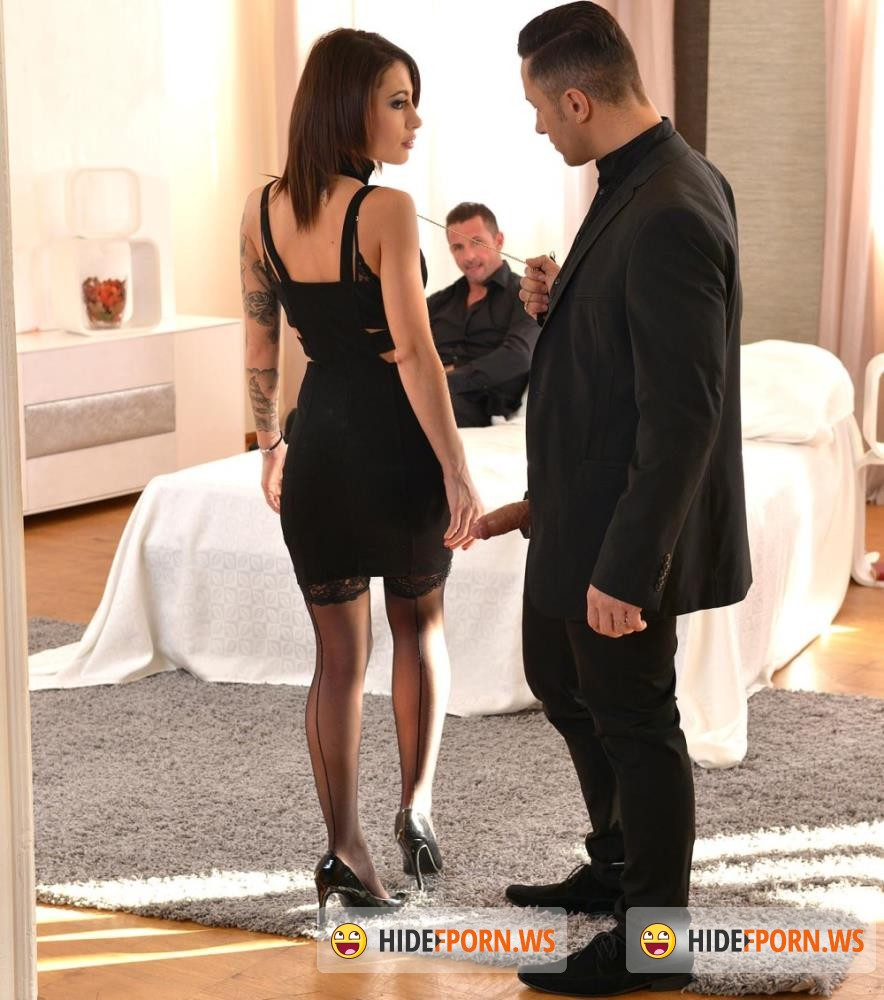 HouseOfTaboo/DDFNetwork - Nikita Bellucci - Gentlemens Club - Two Studs Give Brunette Spanking And Fisting [HD 720p]
