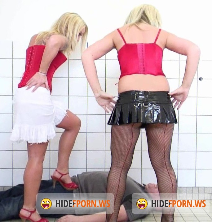 SadoSisters.com: Layla, Jane - The ultimate double Trampling experience  [HD 720p]
